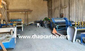 صادرات دستگاه کارتن سازی به باکو